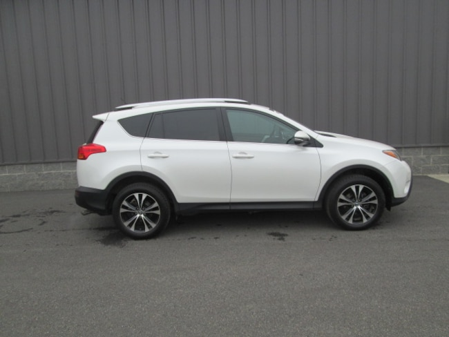 Certified Pre-Owned 2015 Toyota RAV4 SUV For Sale Oneonta, NY