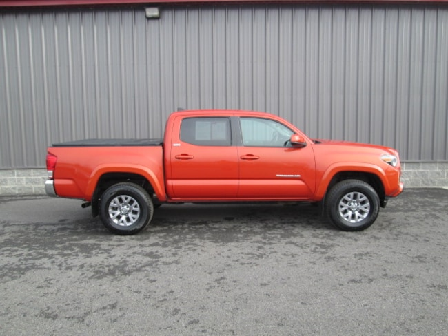 Certified Pre-Owned 2016 Toyota Tacoma SR5 V6 Truck Double Cab For Sale Oneonta, NY