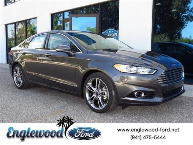 New 2016 Ford Fusion Titanium Sedan Nokomis