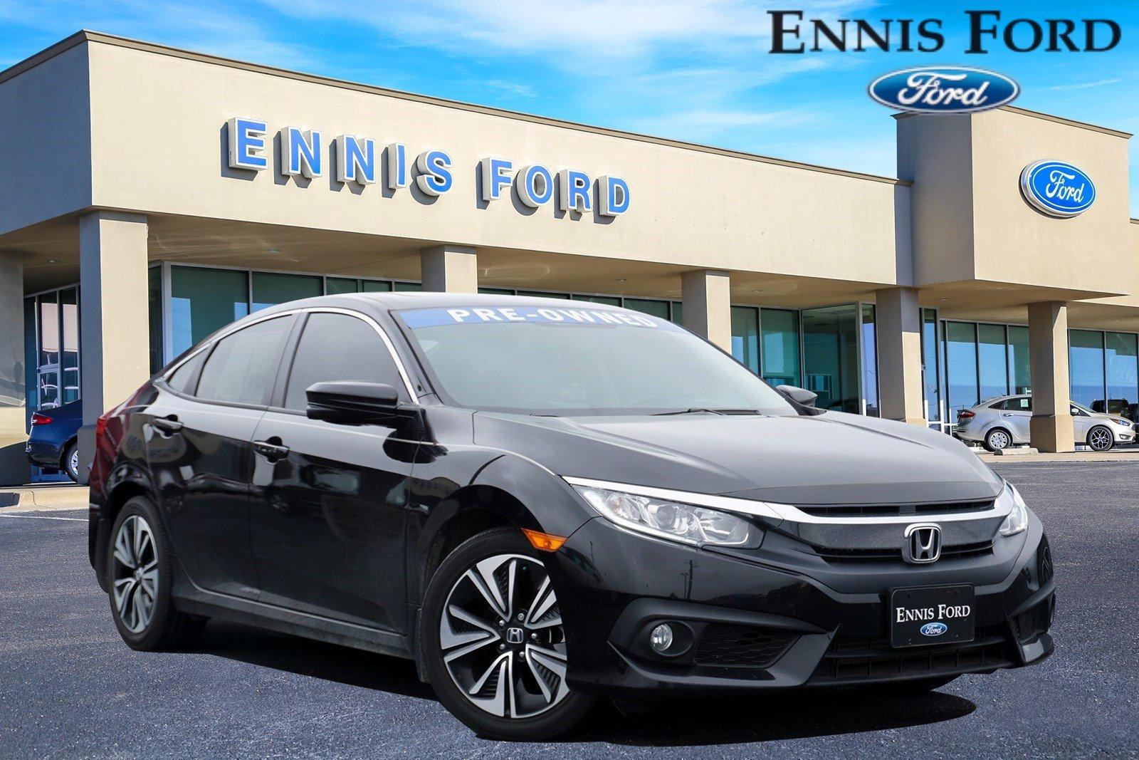 2017 Honda Civic Sedan EX-L EX-L CVT w/Honda Sensing