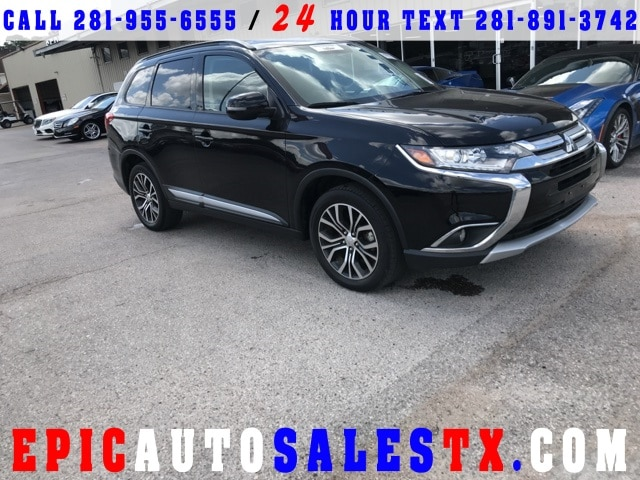Used 2016 Mitsubishi Outlander For Sale at Epic Auto Sales | VIN