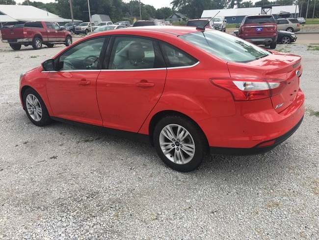 2012 Ford Focus SEL 4dr Sedan Sedan