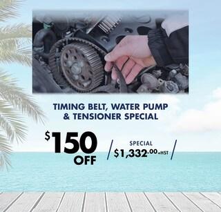 Timing Belt, Water Pump & Tensioner Special