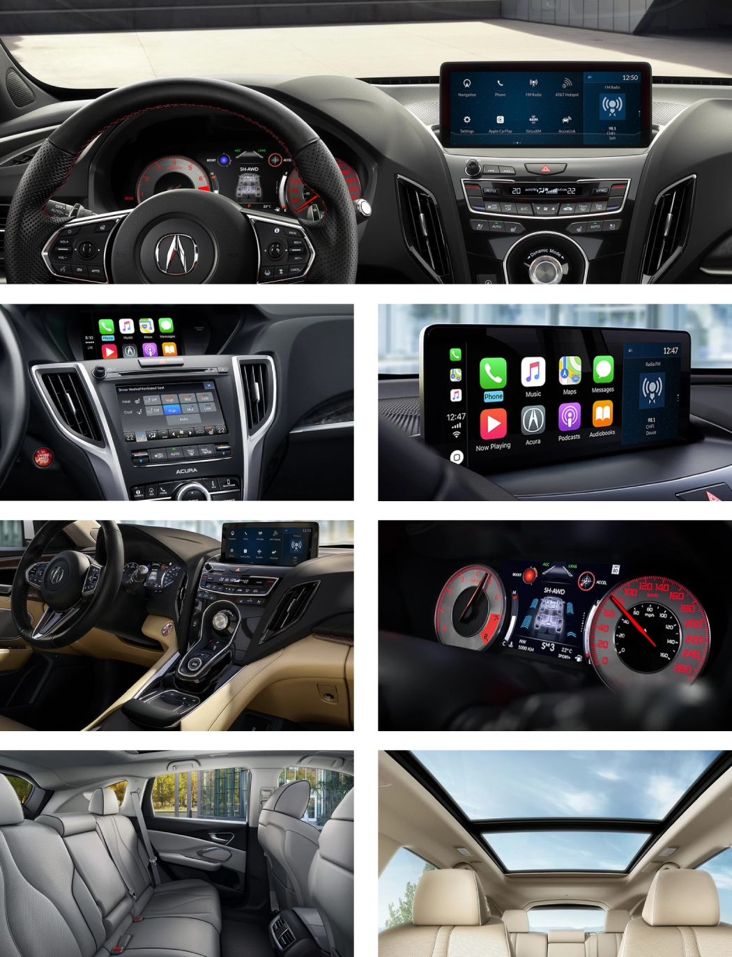 New 2020 Acura RDX Interior