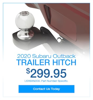 2020 Subaru Outback Trailer Hitch