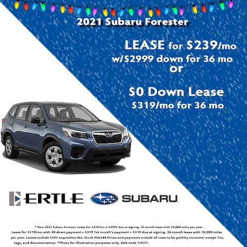 2021 Subaru Forester Holiday Lease Specials