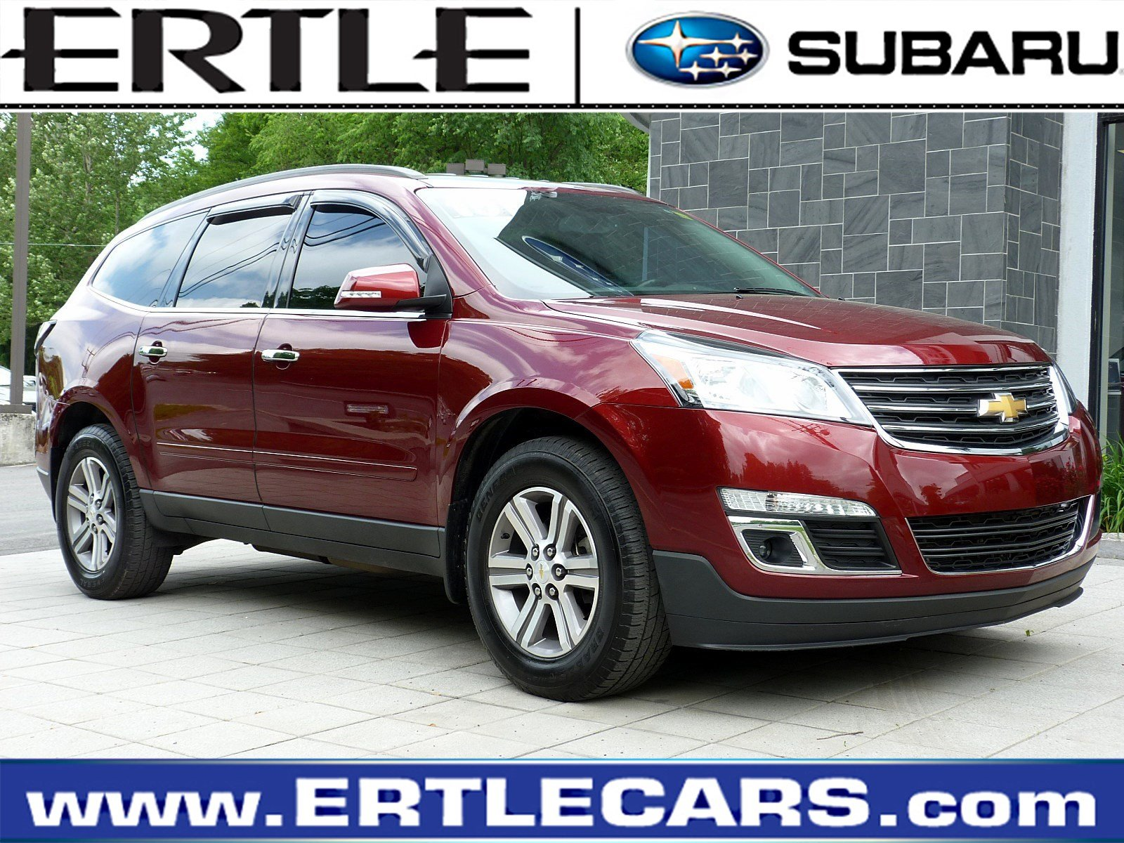 Pre-Owned 2015 Chevrolet Traverse LT AWD  LT w/2LT for sale in Stroudsburg