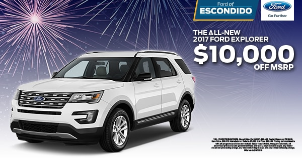 ford explorer compact crossover suvs for sale near san diego ca