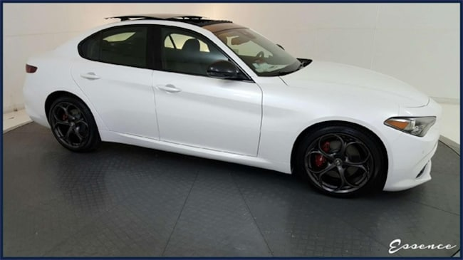 New 2019 Alfa Romeo Giulia | Ti Sport | BLACK EDITION | DYNAMIC ASST+ | LTHR PKG  | ACTV CRUISE | NAV | CAM | HARMAN KARDON | TRi-COAT | $12K OPTS Sedan in the Dallas area
