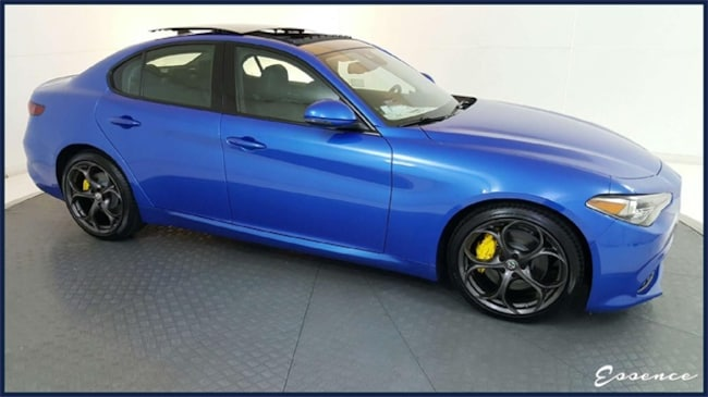New 2019 Alfa Romeo Giulia Ti Sport | DYNMC ASST+ | PANO ROOF | NAV | CAM | PARK ASST | BLIND SPOT | HARMAN KARDON | DARK WLS | $11K OPTS Sedan in the Dallas area