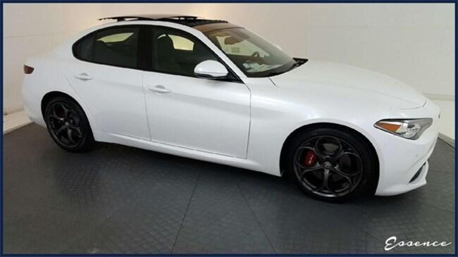 New 2019 Alfa Romeo Giulia | Ti Sport | DRVR ASST | PANO ROOF | NAV | CAM | BLIND SPOT | HARMAN KARDON | TRi-COAT | DARK WLS | $10K OPTS Sedan in the Dallas area