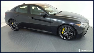 2019 Alfa Romeo Giulia   NERO PKG   NAV   CAM   SAT   PARK ASST   HTD STS   APPLE CARPLAY   YELLOW CLPRS   DARK WLS   $4K OPTS Sedan
