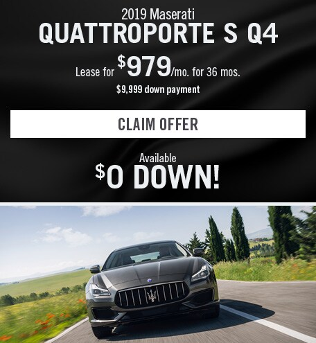Maserati Quattroporte S Q4 Lease Special