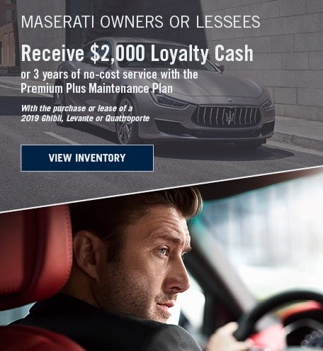 Maserati Loyalty Program