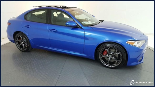 New 2019 Alfa Romeo Giulia | Ti Sport | DRVR ASST | PANO ROOF | NAV | CAM | BLIND SPOT | HARMAN KARDON | DARK WLS | $8K OPTS Sedan in the Dallas area