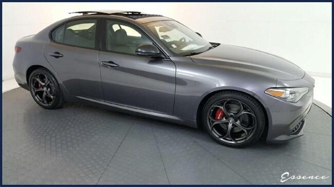 New 2019 Alfa Romeo Giulia | Ti SPORT | BLACK EDITION | DRVR ASST | PANO ROOF | NAV | BLIND SPOT | FORWARD ALERT | HARMAN KARDON | $9K OPTS Sedan in the Dallas area