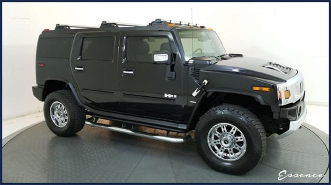Used 2008 HUMMER H2   LUXURY   REAR DVD   NAV   CAM   SUNROOF   HTD ST SUV in the Dallas Area