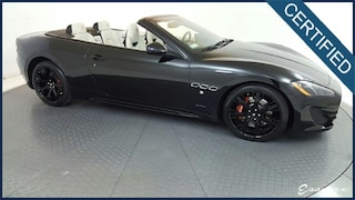2015 Maserati GranTurismo   SPORT Convertible   *CERTIFIED*   NAV   PARK ASST   HTD STS   BOSE   CARBON STR WHL   RED CLPRS   NEPTUNE WLS   $160K MSRP Convertible