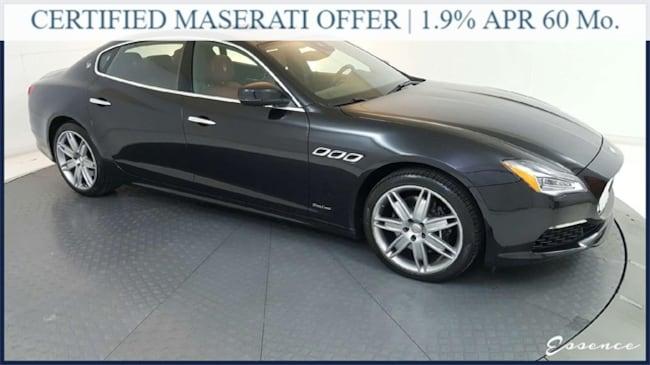 2018 Maserati Quattroporte | S GRANLUSSO | *CERTIFIED* | DRVR ASST TSR | ZEGN Sedan