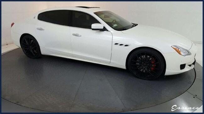 2015 Maserati Quattroporte GTS -CERTIFIED- SPORT 21 | NAV | CAM | RR HTD STS Sedan