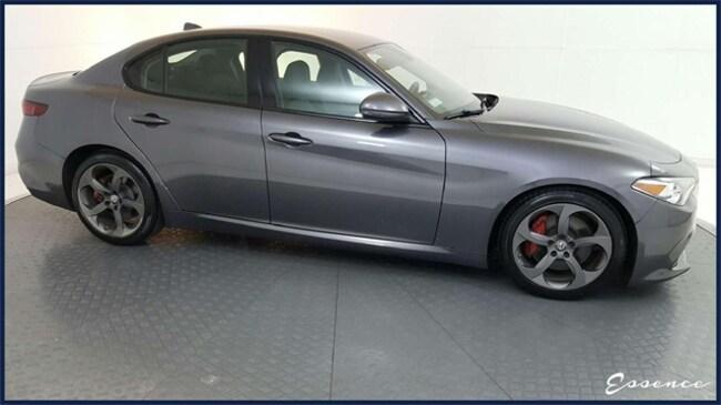 2018 Alfa Romeo Giulia Base NAV, CAM, SAT, PARK ASST, XENON,$42 MSRP Sedan