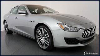 2018 Maserati Ghibli : NAV, CAM, PARK ASST, BLIND SPOT, $5K OPTS Sedan