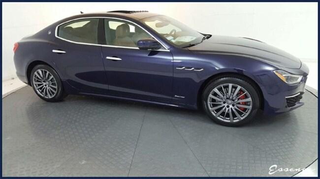 New 2019 Maserati Ghibli GranLusso   DRVR ASST   ACTV CRUISE   NAV   BLIND SPOT   CLMT STS   RED CLPRS   ZEGNA SEATS   $4K OPTS Sedan in the Dallas area