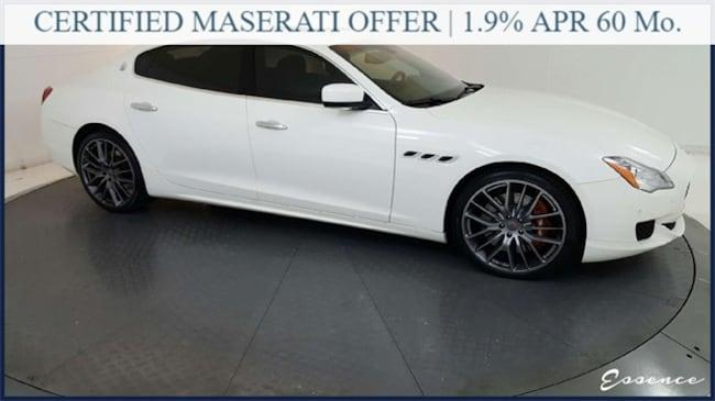 Used 2015 Maserati Quattroporte GTS | *CERTIFIED* | FULL LTHR | NAV | CAM | PARK A Sedan in the Dallas Area