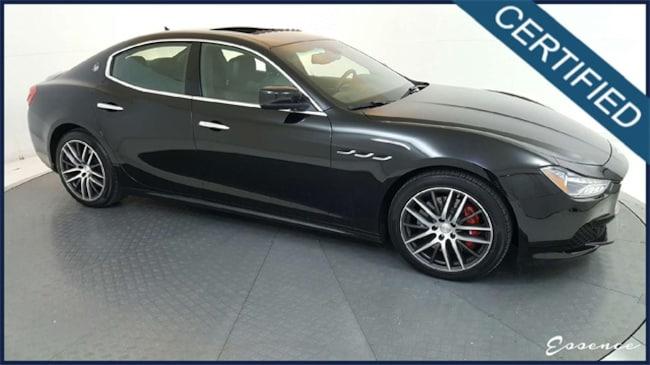 Used 2016 Maserati Ghibli | S Q4 -CERTIFIED- PREMIUM | EXT. LTHR | NAV | CAM Sedan in the Dallas Area