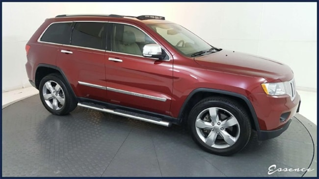 Used 2012 Jeep Grand Cherokee   LIMITED 4X4   NAV   CAM   PARKSENSE   SUNROOF   HTD STS   REMOTE START   RUNN BRDS   20