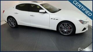 2016 Maserati Ghibli | S Q4 | *CERTIFIED* | LUXURY | NAV | CAM | SUNROOF | HTD STS | SHIFT PADDLES | RED CLPRS | 20' URANO WLS | $6K OPTS Sedan