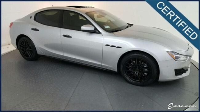 Used 2018 Maserati Ghibli -CERTIFIED- NAV | CAM | PARK ASST | BLIND SPOT | H Sedan in the Dallas Area