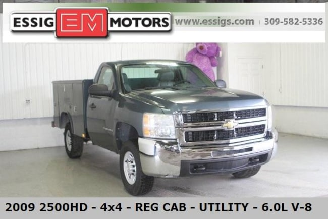 2009 Chevrolet Silverado 2500HD Truck Regular Cab