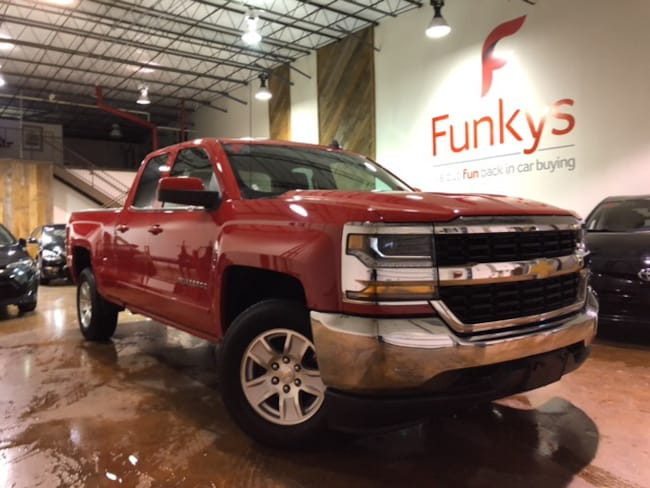 Used 2018 Chevrolet Silverado 1500 LT w/1LT Truck Double Cab For Sale Grove City, OH