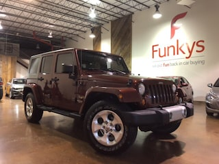 Used 2008 Jeep Wrangler Unlimited Sahara SUV in Grove City, OH
