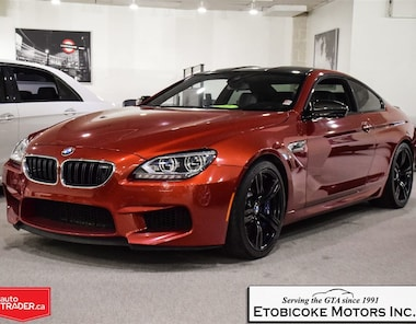 2013 BMW M6 HEADS UP DISPLAY / SOFT CLOSE DOORS Coupe