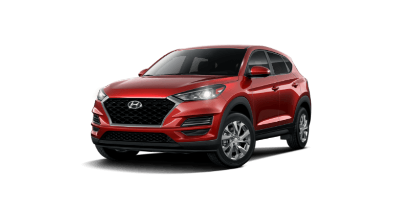 2021 Hyundai Tucson SE - Crimson Red