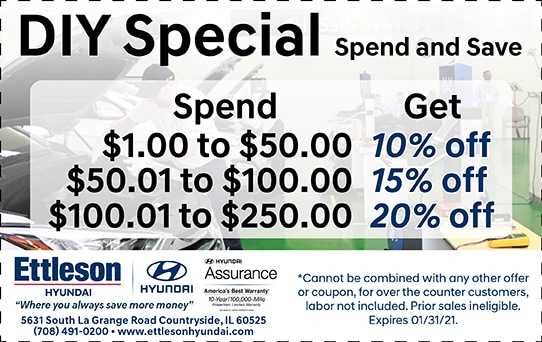 Spend and Save Special | Ettleson Hyundai