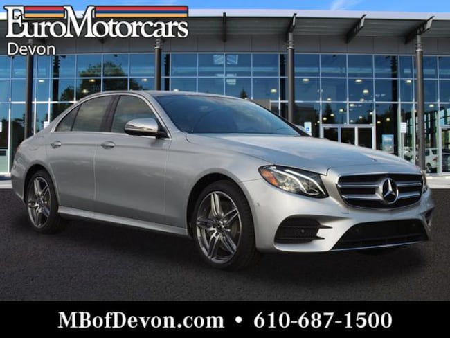 2019 Mercedes-Benz E-Class E 300 4MATIC® Sedan Sedan