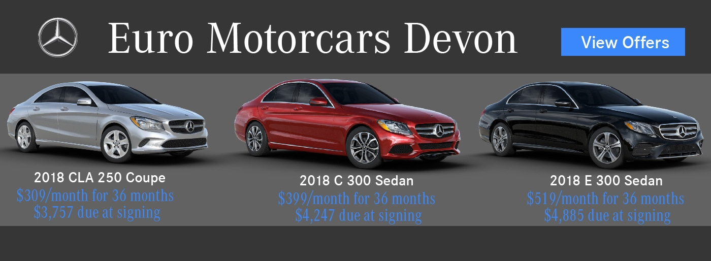 euro motorcars devon mercedes benz sales near