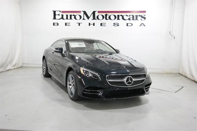 2019 Mercedes-Benz S-Class S 560 4MATIC® Coupe Coupe