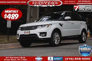 Used 2017 Land Rover Range Rover Sport 3.0L V6 Supercharged SE SUV For Sale Great Neck NY