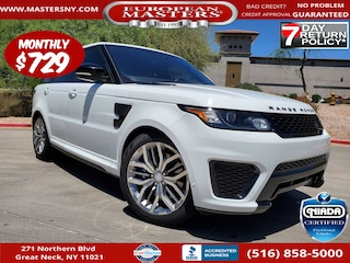Used 2017 Land Rover Range Rover Sport 5.0L Supercharged SVR SUV For Sale Great Neck NY