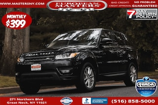 Used 2017 Land Rover Range Rover Sport 3.0L V6 Turbocharged Diesel SE Td6 SUV For Sale Great Neck NY
