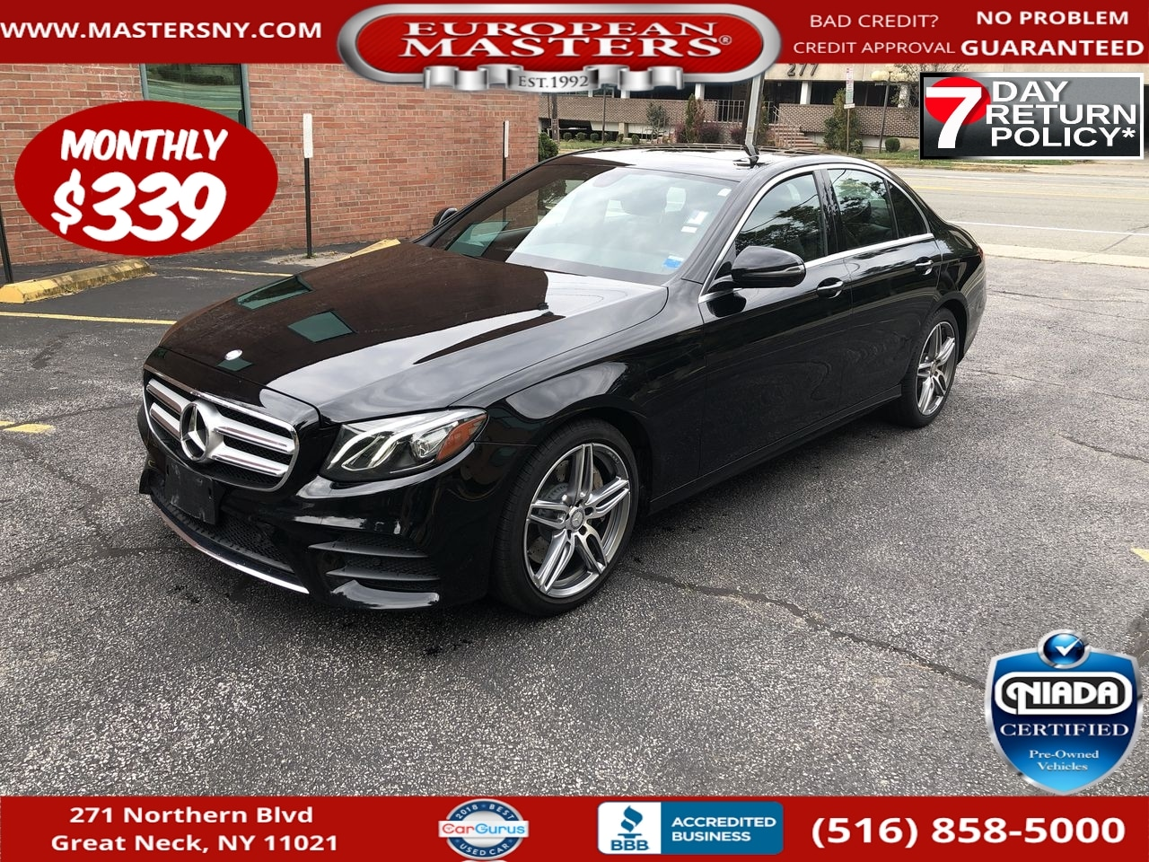 Used Mercedes Benz E Class Great Neck Ny