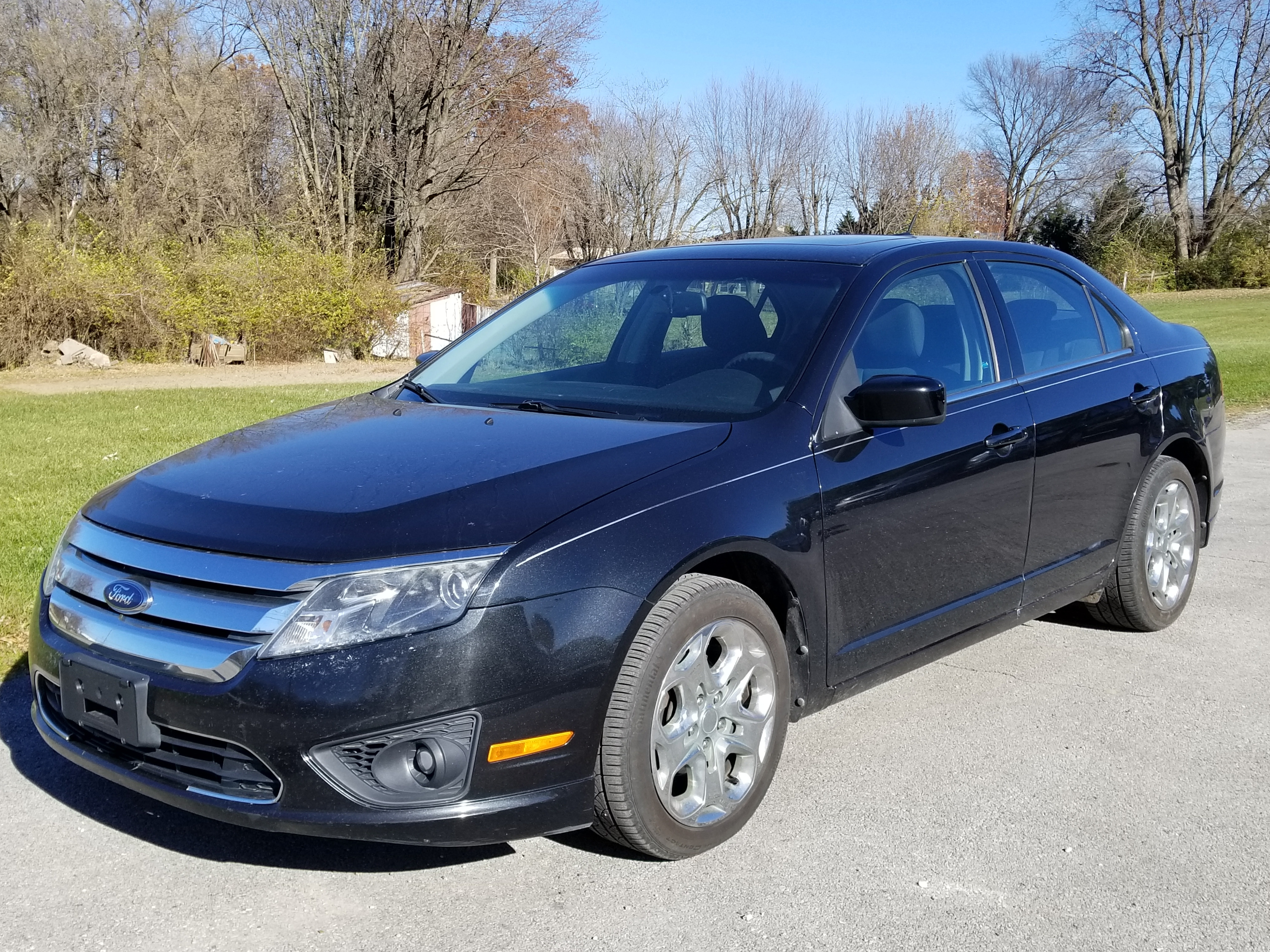 Used 2010 Ford Fusion For Sale at Evans Ford Inc  | VIN