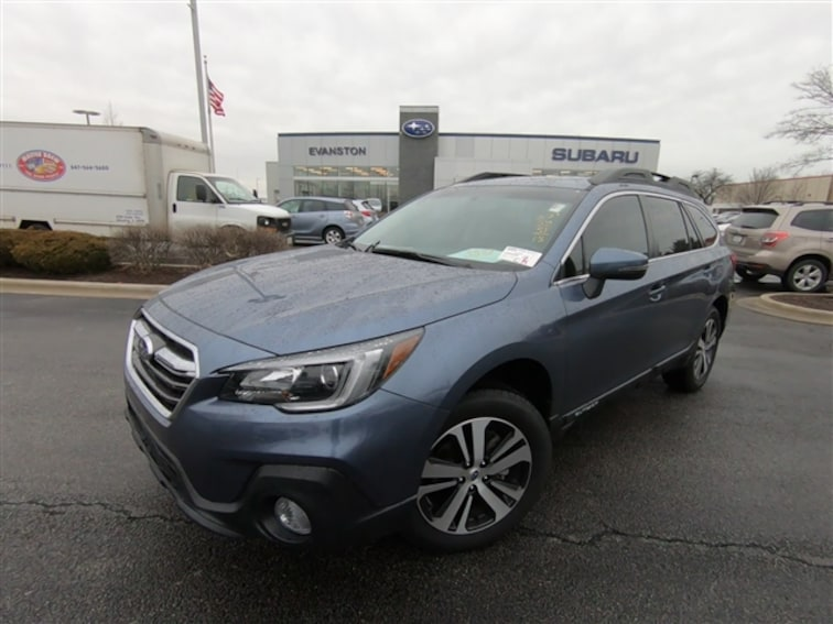 Used 2018 Subaru Outback 2.5i Limited SUV For Sale in Skokie, IL