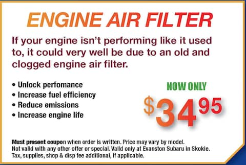 New Engine Air Filter
