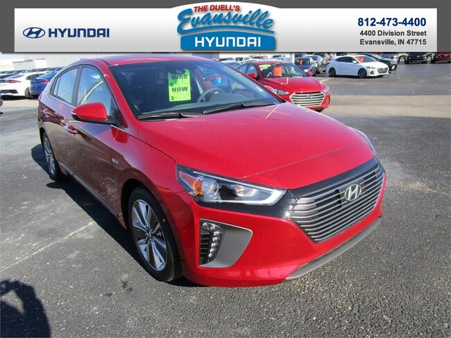 New 2019 Hyundai Ioniq Hybrid For Sale At Evansville Hyundai Vin