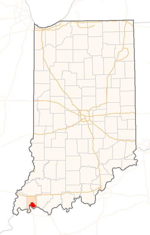 Evansville Indiana Map Evansville, Indiana History & Attractions   Evansville Hyundai  Evansville Indiana Map